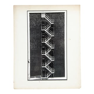 Robert Collier Industrial Staircase Photograph