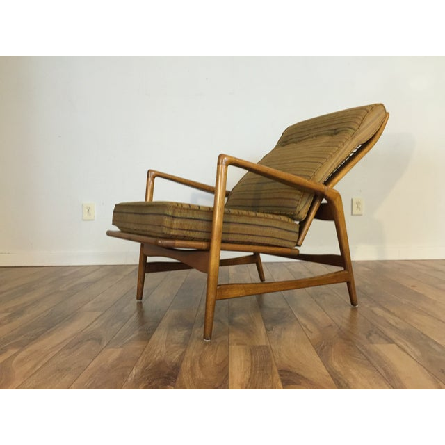 Mid-Century Adjustable High Back Lounge Chair - Image 5 of 11