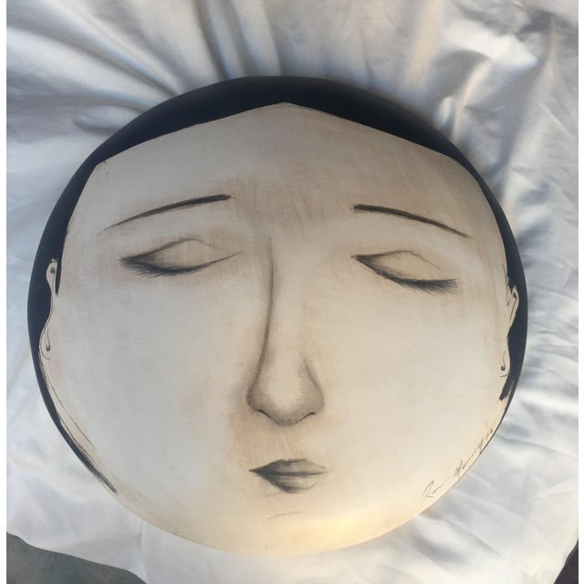 Image of Fornasetti-Style Face Wall Art
