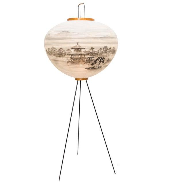 Image of Isamu Noguchi for Akari Vintage Floor Lamp