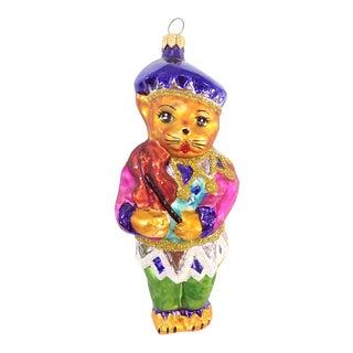 Christopher Radko Cat & Violin Ornament