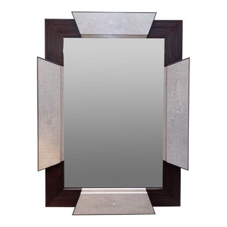 Rosewood and shagreen frame