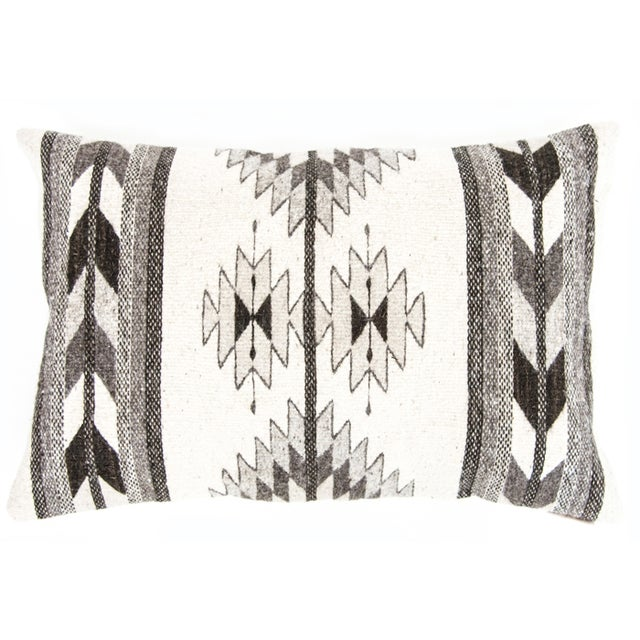 Grey Oaxaca Wool Pillow Cover - Image 1 of 5