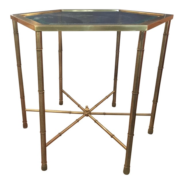 Mastercraft Brass Side Table - Image 1 of 5