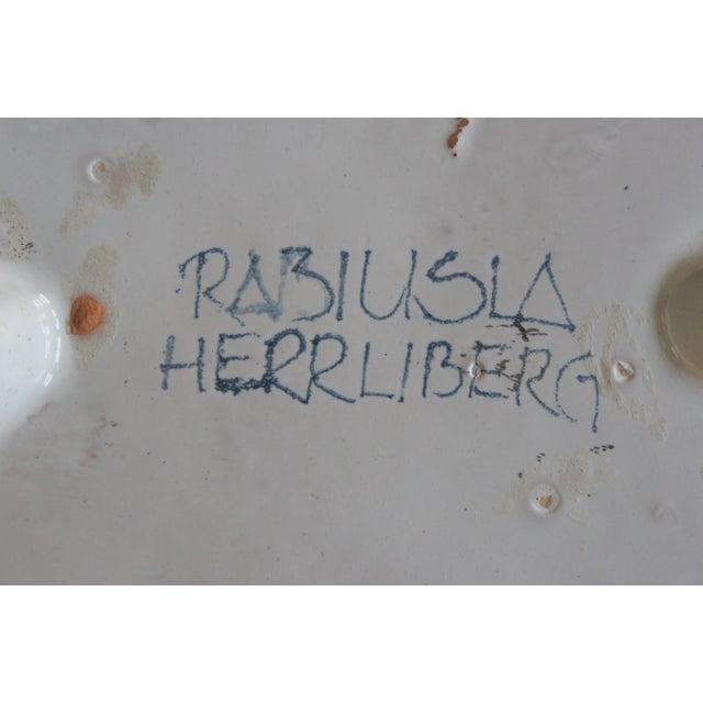 Image of Rabiusla Herrliberg of Switzerland Clover Plate