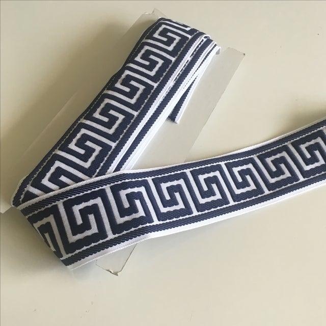 Blue & White Greek Key Trim Banding - Image 2 of 8