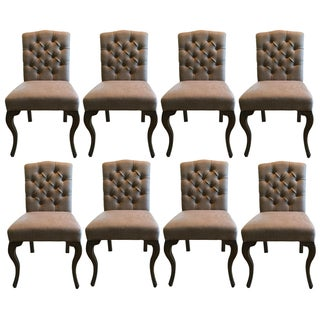 Tufted Palecek Dining Chairs - Set of 8