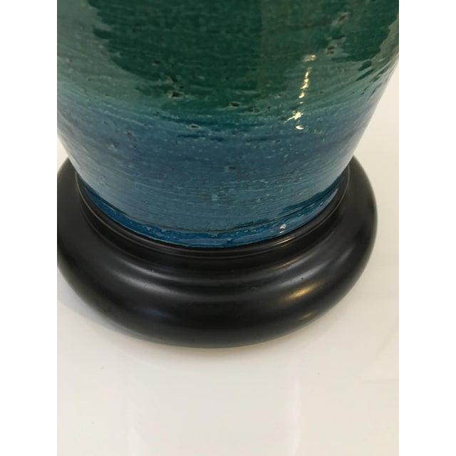Image of Bitossi Ceramiche Art Pottery Lamp