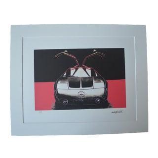 Andy Warhol Mercedes Benz Print
