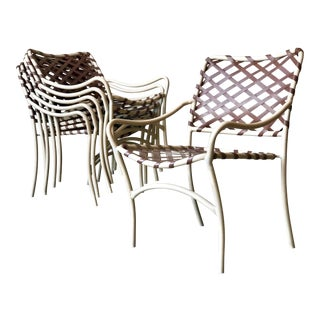 Brown Jordan Webbed Patio Chairs