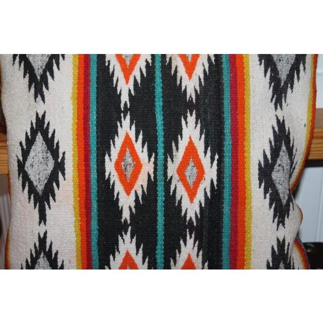 Amazing Early Geometric Navajo Eye Dazzler Pillow - Image 1 of 2