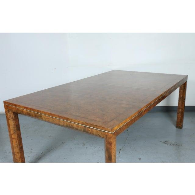 Master Burlwood Dining Table - Image 7 of 11
