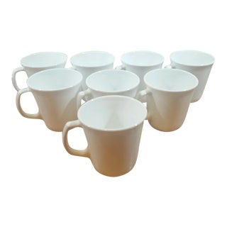 Corelle Winter Frost White Plain Supreme Coffee Cups - Set of 8