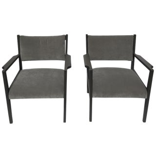 1950s Jens Risom Armchairs - A Pair