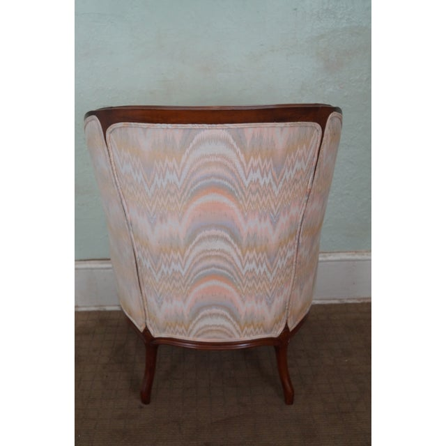 Large 1920s French Louis XV Style Bergere Chair - Image 4 of 10