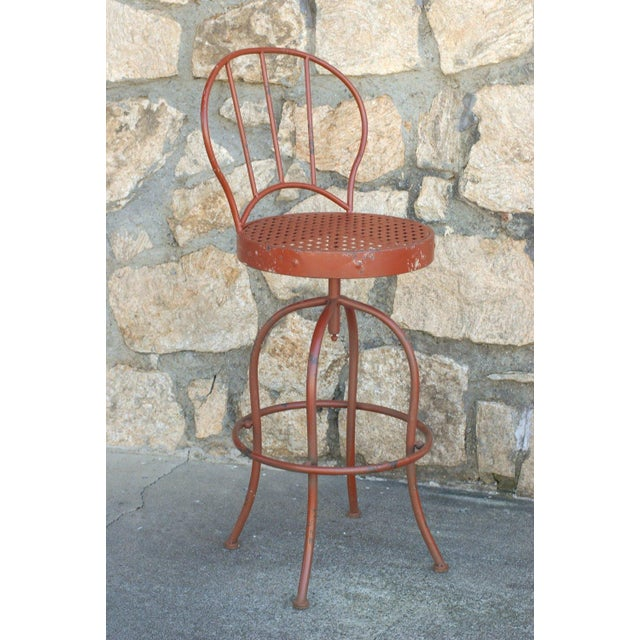 Metal French Bistro Garden Set - Image 4 of 5