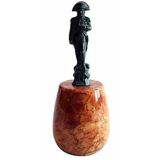Mini Napoleon Marble Base Sculpture