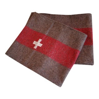 Custom Tailored Swiss Wool Blanket Table Runner