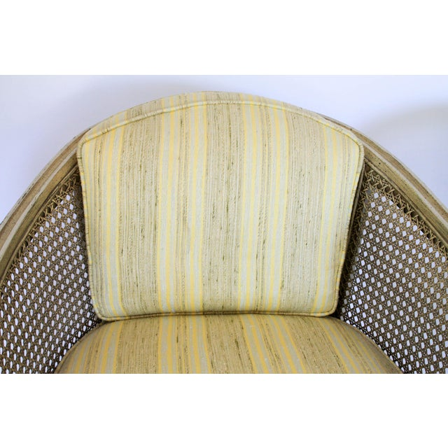 Caned Barrel Chairs - A Pair - Image 11 of 11