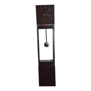 Mid-Century Modern Floor Clock