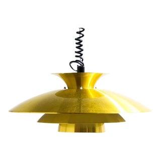 Brass Henningsen Style Hanging Lamp