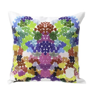 Kristi Kohut On Fire Pillow