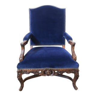 Ralph Lauren Home Carved Provence Chair in Velvet