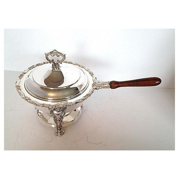 F.B. Rogers Silverplated Chaffing Dish Set - Image 4 of 10