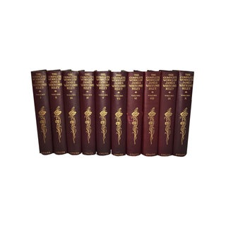 Antique James Whitcomb Riley Books - Set of 10