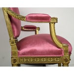 Image of French 19th Century Louis XVI Giltwood Settee