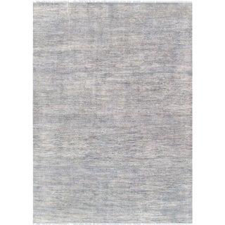 "Pasargad Transitional Silk & Wool Area Rug - 10' 0"" x 14' 2"""