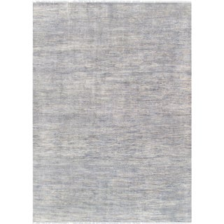 "Pasargad Transitional Silk & Wool Area Rug - 10' 0"" x 14' 2"""