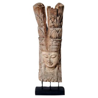 Southeast Asian Apsara Figure