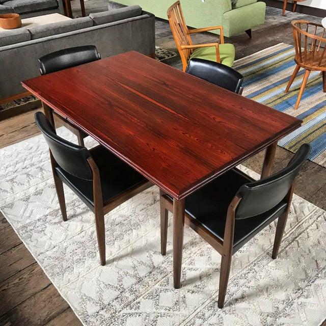 H. W. Klein for Bramin Danish Rosewood Dining Set - Set of 5 - Image 2 of 11