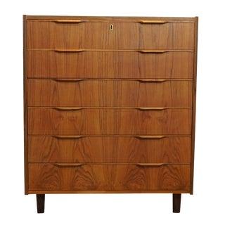 Danish Mid-Century Modern Teak Dresser
