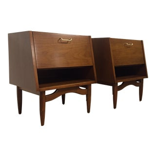 American of Martinsville Nightstands- A Pair