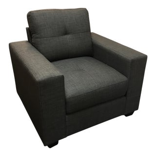 Contemporary Gray Arm Chair