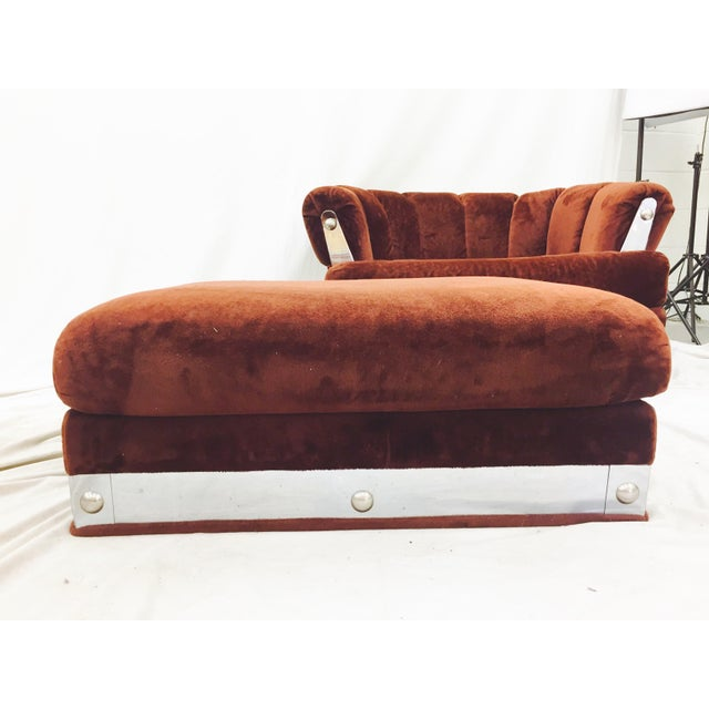 Vintage Mid-Century Modern Chair & Ottoman - A Pair - Image 6 of 11