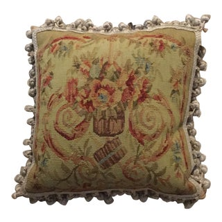 Pierre Deux Needlepoint Pillow