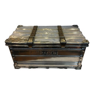 Polished Industrial Metal Trunk