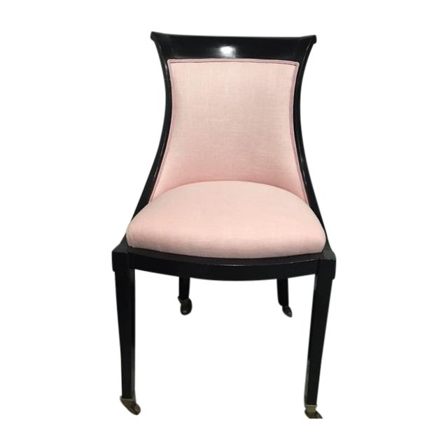 Vintage Side Chair With Ebony Stain - Image 1 of 9