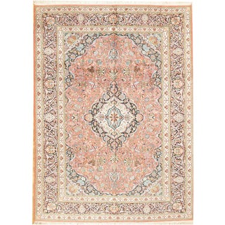 Kashmir Hand-Knotted Rug - 8′3″ × 11′1″