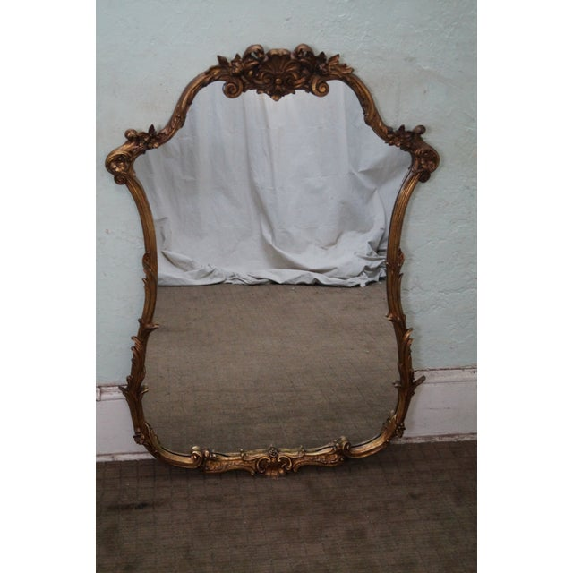 Friedman Brothers Vintage 1940s Gilt Mirror - Image 2 of 9