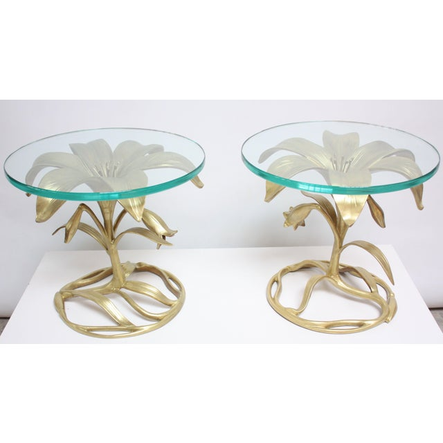Pair of Arthur Court 'Lily' Side Tables - Image 4 of 11