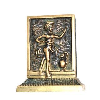 Art Nouveau Dancing Lady Matchbox Holder