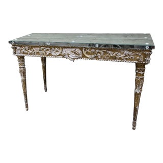 Italian Baroque Style Giltwood Console