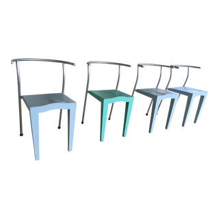 Starck for Kartell Dr Glob Chairs - Set of 4