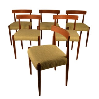Danish Teak Chairs by Arne Hovmand Olsen - 6