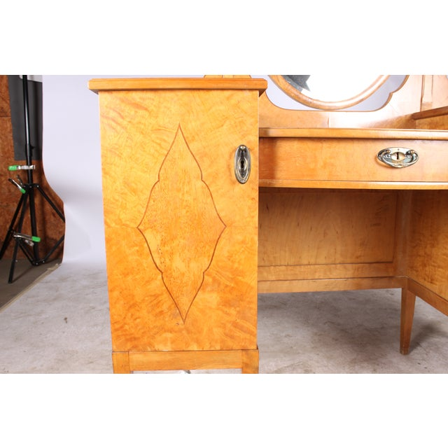 Hollywood Regency-Style Dressing Table - Image 5 of 5
