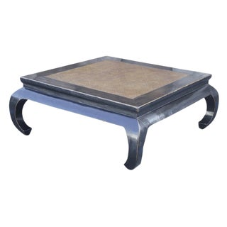 Chinese Rattan Coffee Table